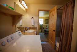 Upper Level - Hallway Bath with Laundry